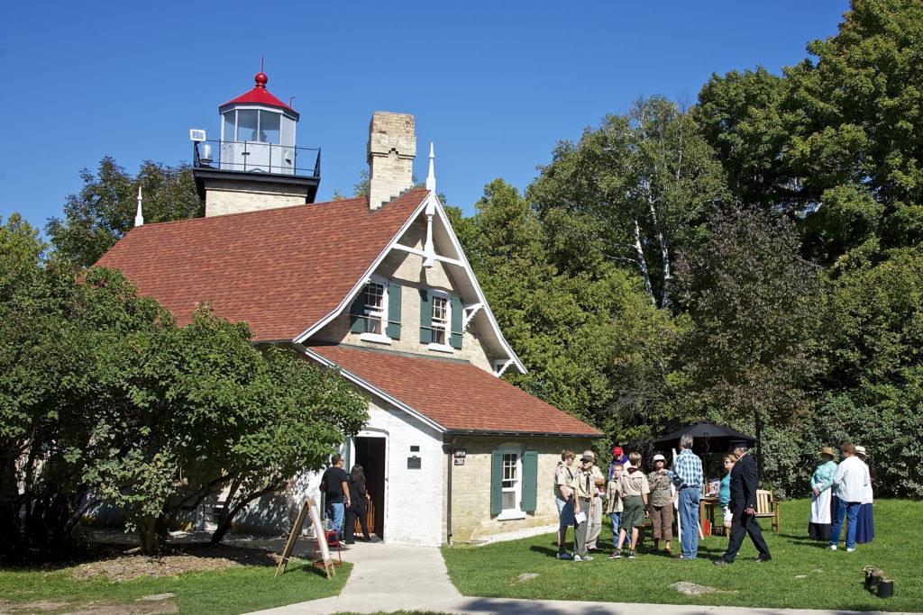 Eagle Bluff Lighthouse. Photo by Len Villano.