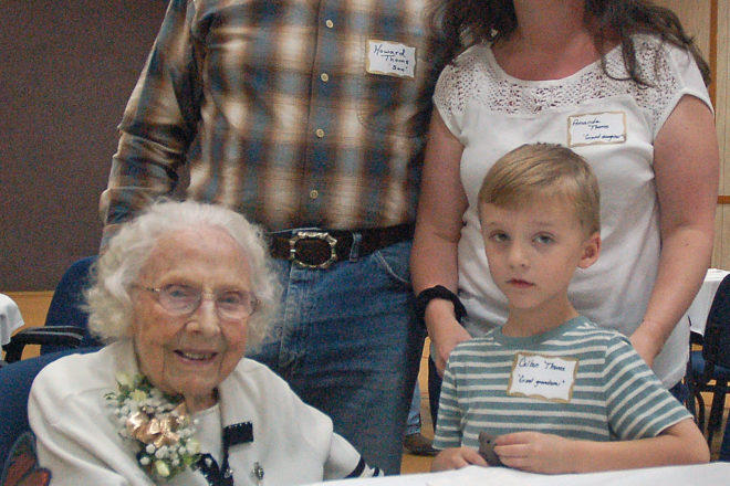 Florence Thomas Celebrated 100th Birthday Sept. 1