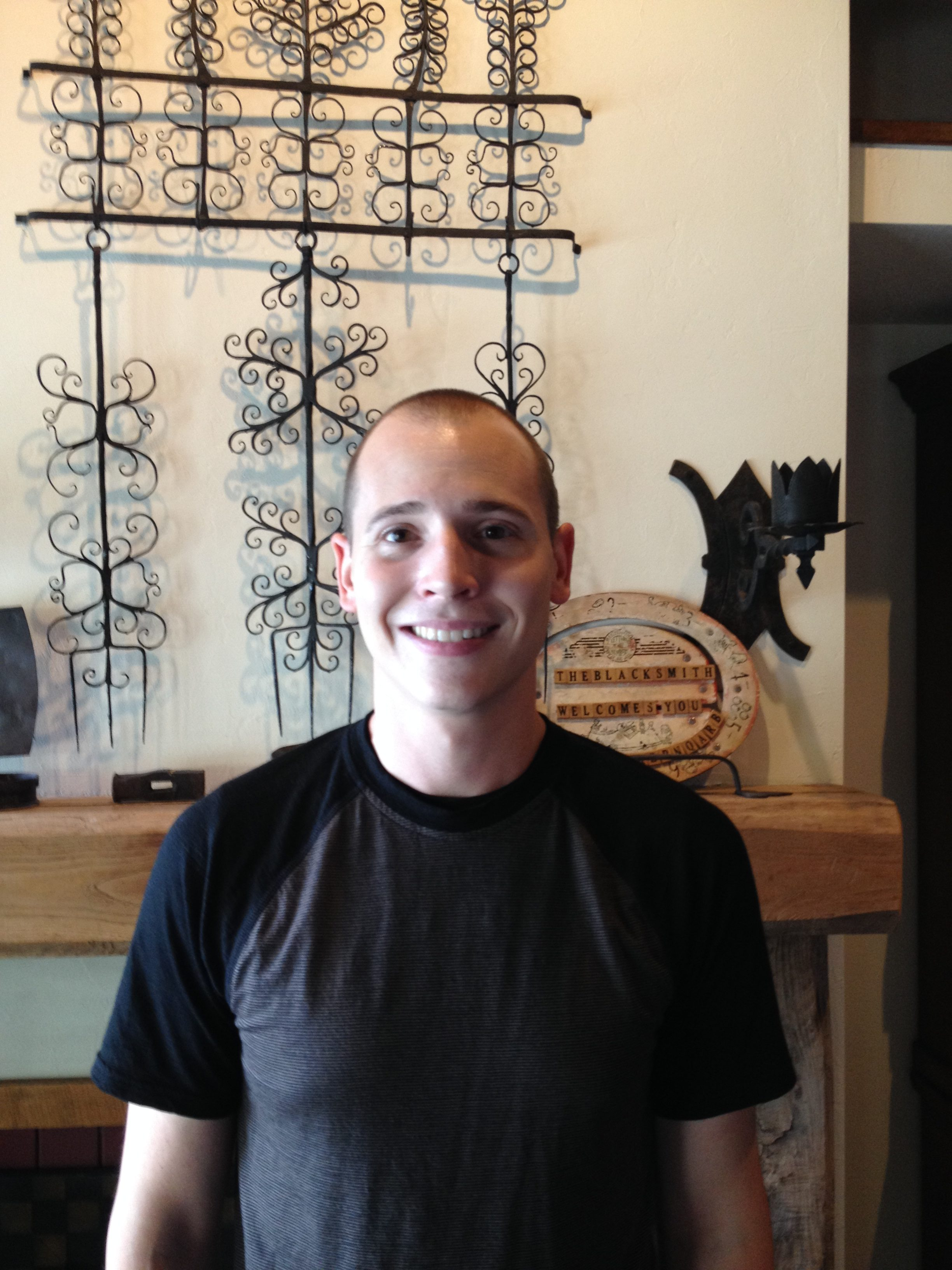 Server of the Week: Sam Nelson of Blacksmith Inn On the Shore - Door