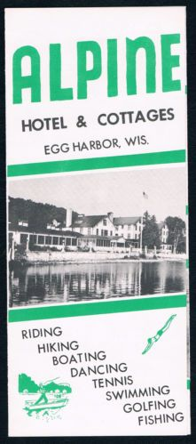 Old Alpine Brochure