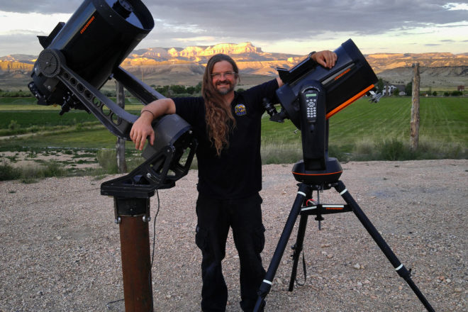 Dark Ranger Kevin Poe will bring his expertise on light pollution to Crossroads at Big Creek on Sept. 21. Submitted.