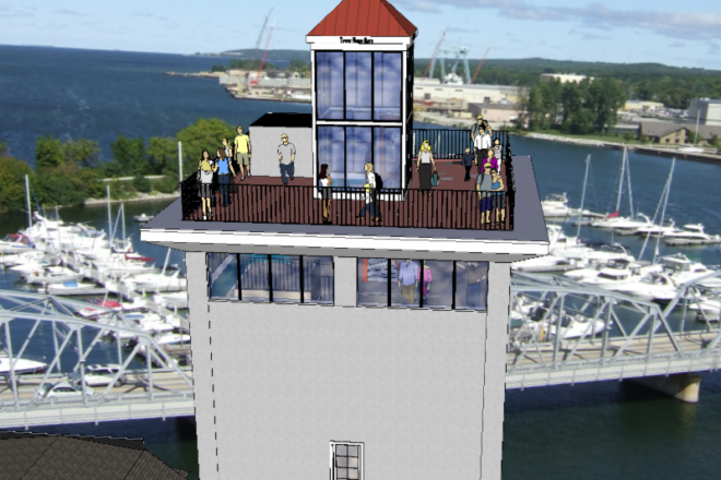 Door County Maritime Museum's Tower Campaign Still Raising Funds for Construction