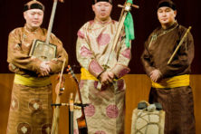 The Alash Tuvan Ensemble will bring an evening of traditional throat singing to the Door Community Auditorium this weekend.