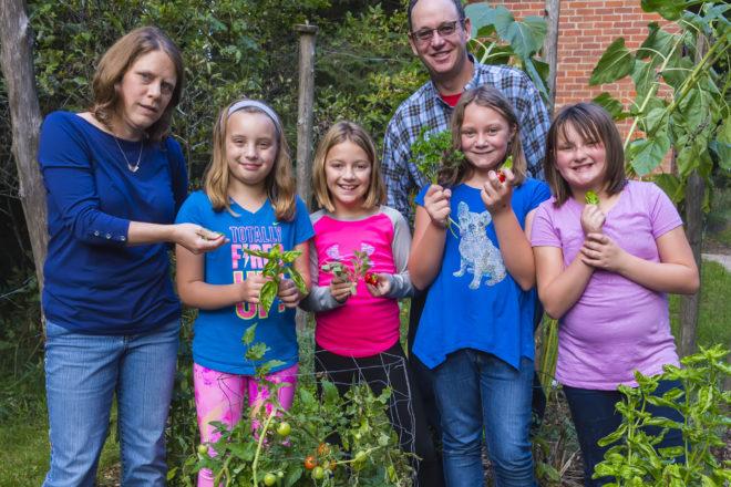 Girl Scouts Grow a Pizza Garden
