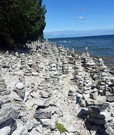 The Door County Airport and Parks Committee decided at its Oct. 12 meeting to leave the issue of building cairns u2013 or stacks of rocks on the shoreline ... & County Leaves Cairns Alone - Door County Pulse