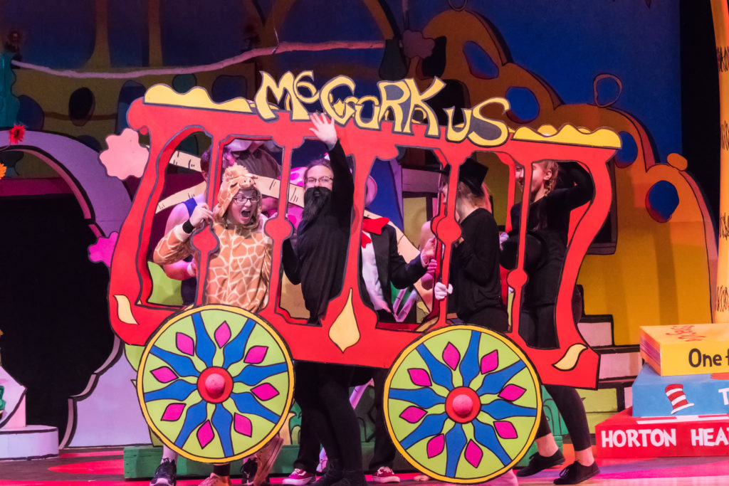 Seussical takes the stage at Southern Door Auditorium this weekend. Photo by Len Villano.