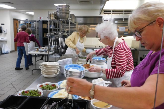 Loaves and fishes of door county recognized as 501 c 3 for Loaves and fishes volunteer