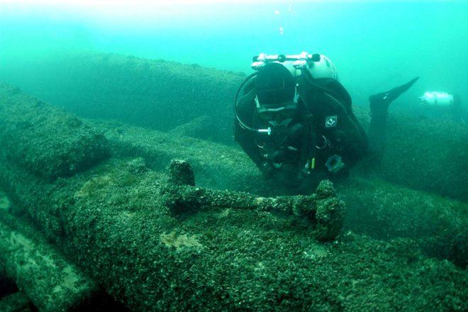 Maritime Speaker Series Begins with the 'Niagara' Wreck