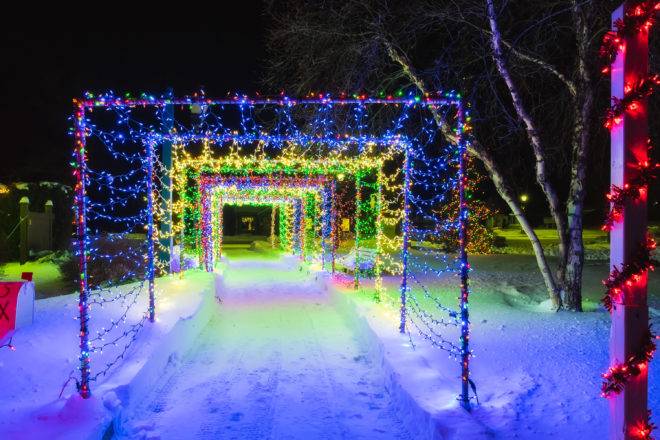 if you have been enjoying the christmas lights in beautiful downtown sister bay you can thank the village parks crew for many of them