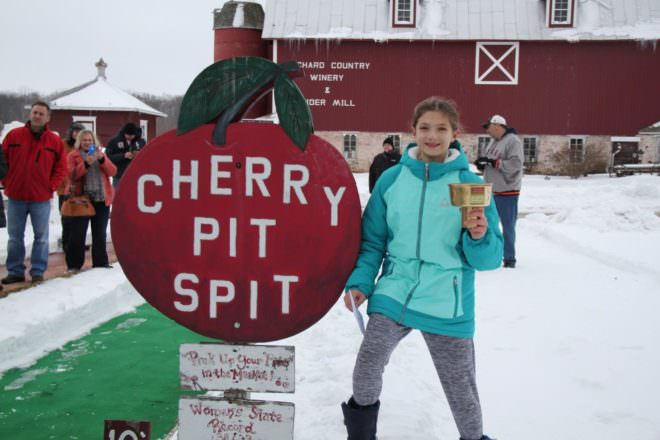 Lautenbach's Back for Another Winter Wine and Cherry Fest