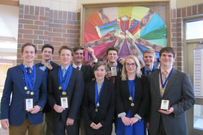 Gibraltar DECA Students Compete at Career Development Conference