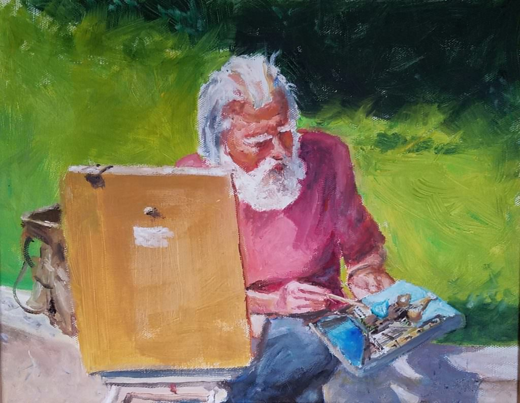 Questions amp artists painter tom demint door county pulse