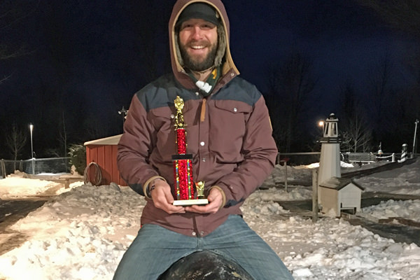 Kwaterski Wins 4th Red Putter Frostbite Open Title