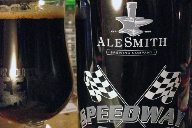 Cheers!: Speedway Stout, Black Gold from AleSmith Brewing