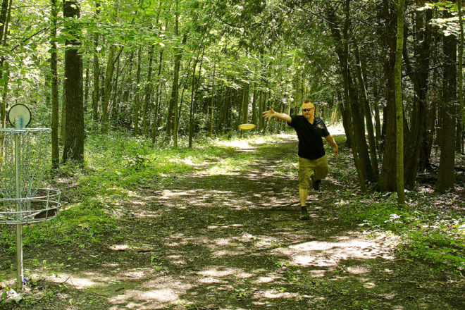 Disc Golf Group Seeks Sister Bay, Baileys Harbor Courses