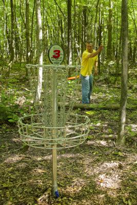 Len Villan, disc golf