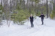 Len Villano, Crossroads, skiing