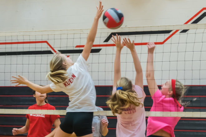Rival Athletes Come Together for Club Volleyball