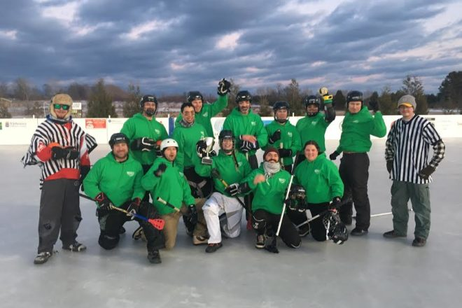 Northern Door Broomball League: Feb. 17, 2017