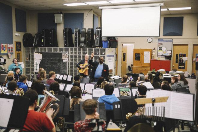 Birch Creek Faculty Members Visit Local Schools for 'Artists In The Schools' Program