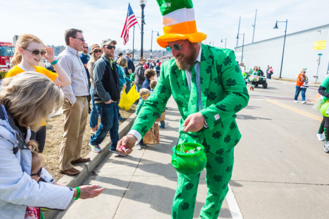 Celebrate the Luck O' the Irish with St. Patrick's Day Parade March 11