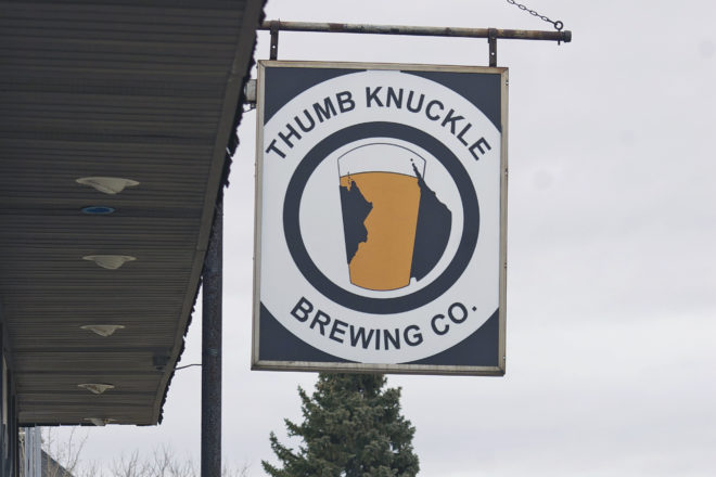 Thumb Knuckle Brewery. Kewaunee.
