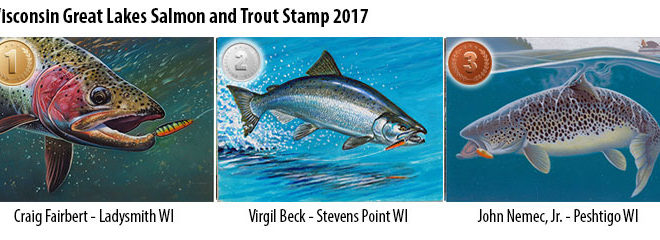 DNR Asks Students to Design 2018 Fish Stamps