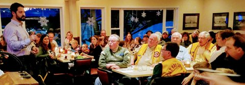 Sister Bay Lions Club Held Annual Packer Night