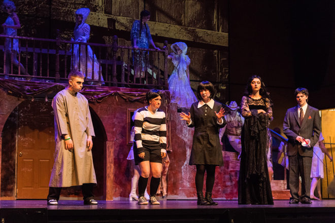 Gibraltar Students Present 'The Addams Family' Musical April 28-30