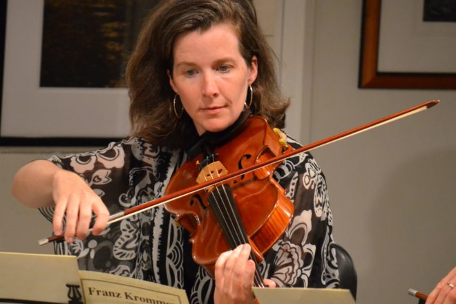 Allyson Fleck Performs with Boulder Philharmonic Orchestra