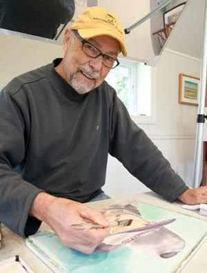 Miller Art Museum Welcomes Local Watercolorist for Travelogue