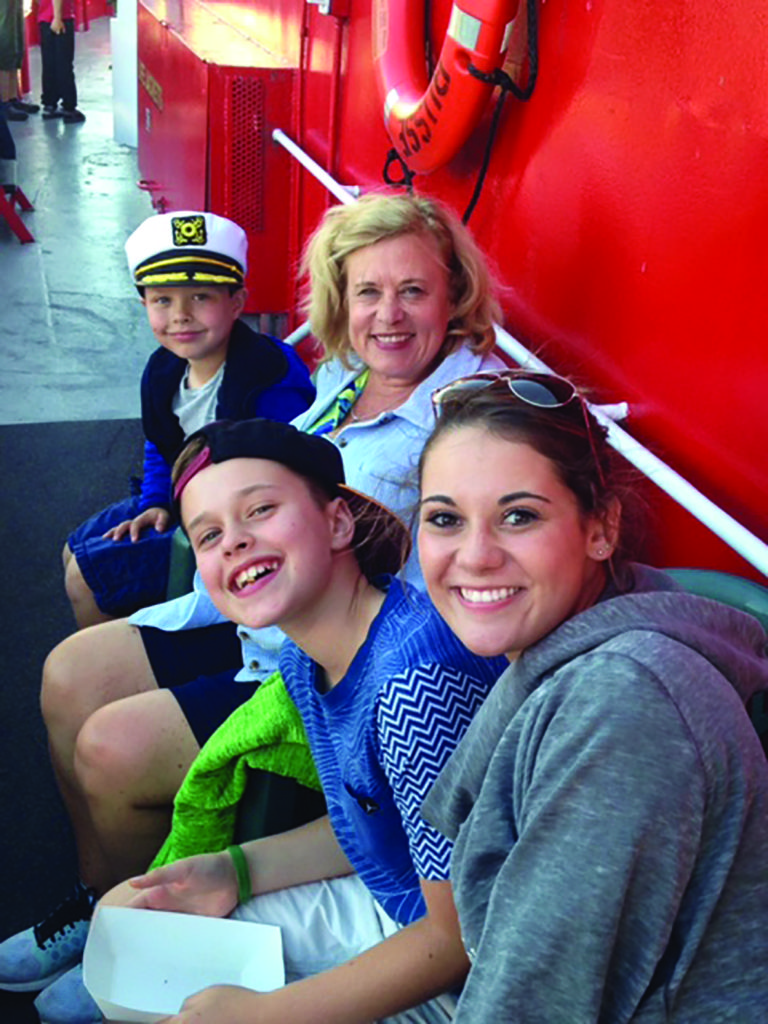 Fireboat Cruise by Erin Wehrenberg. Causes to Celebrate.