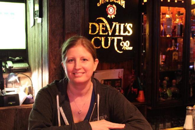 Amanda Danforth. Coyote Roadhouse. Server of the Week.