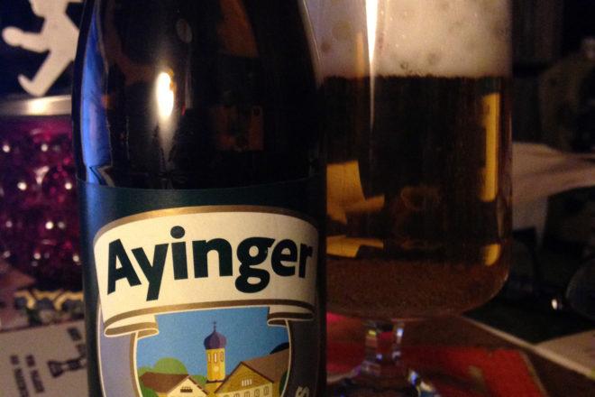 Ayinger Bavarian Pils. Cheers!