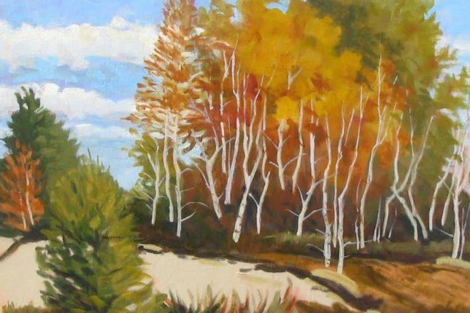 Impressionistic Paintings at Fish Creek YMCA