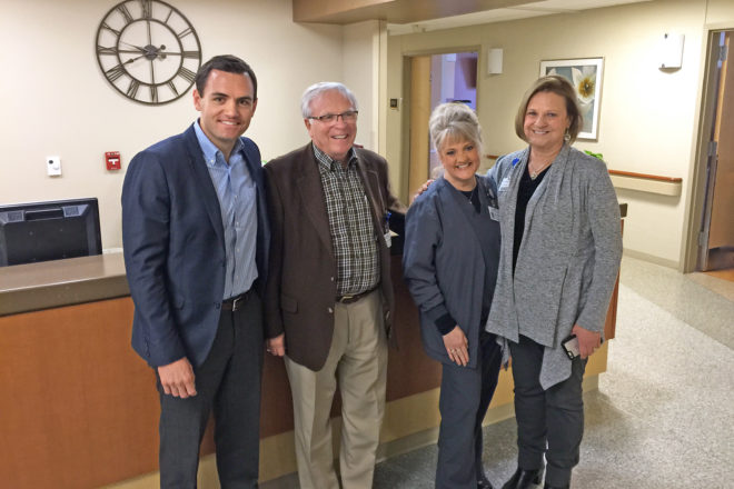 Gallagher Visits Door County Medical Center