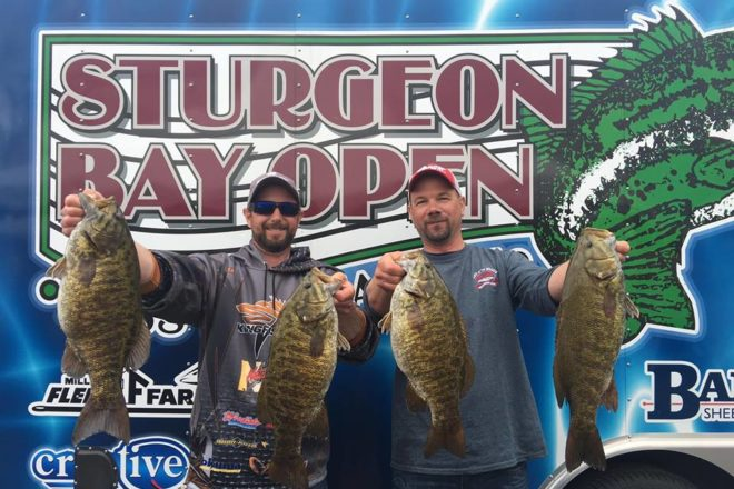 Sturgeon bay open bass tournament 2017 results door for Fishing tournaments 2017