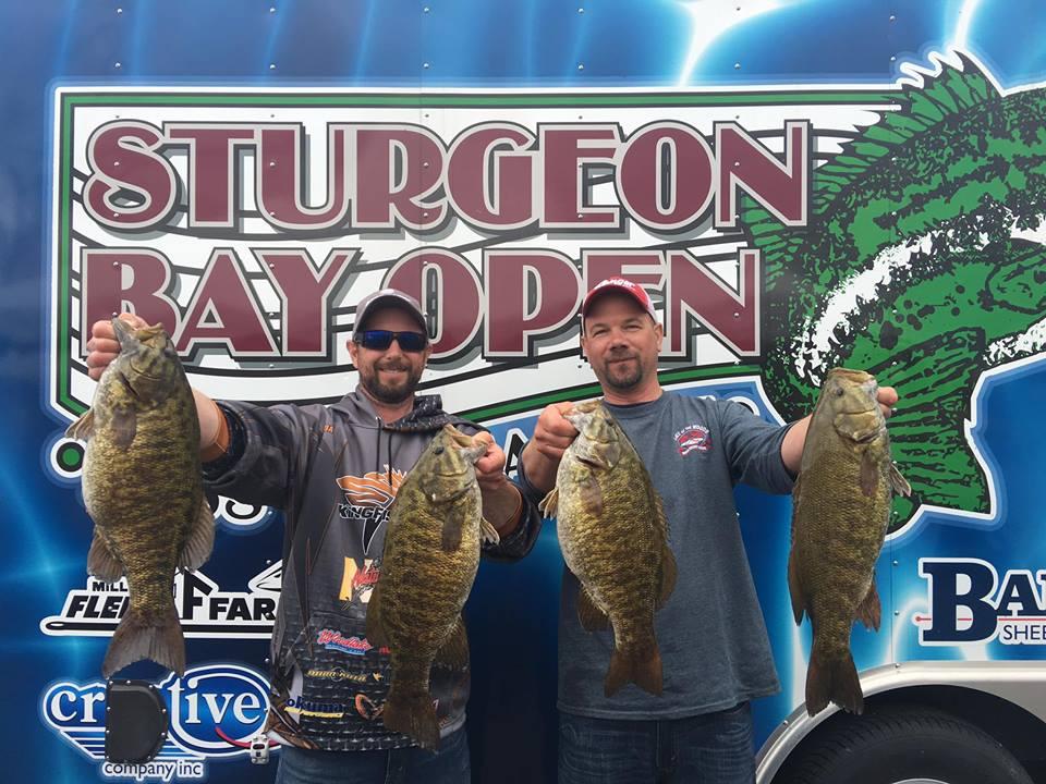 Sturgeon bay open bass tournament 2017 results door for Open bass fishing tournaments