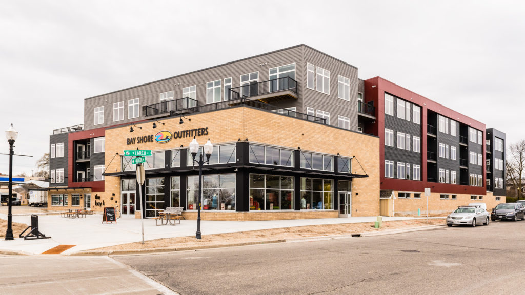 Bay Lofts Opens on West Side