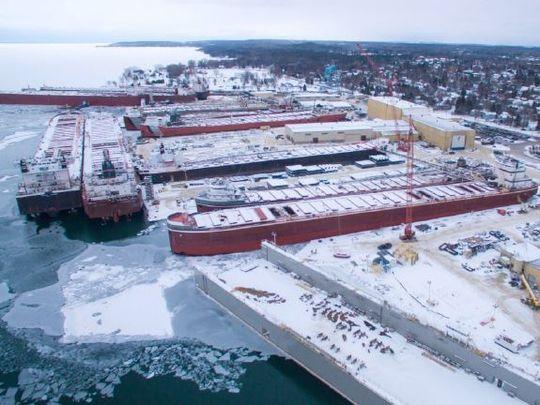 Ship Building In Door County In S