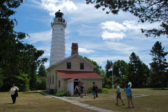 Cana Island Lighthouse Open for the Season