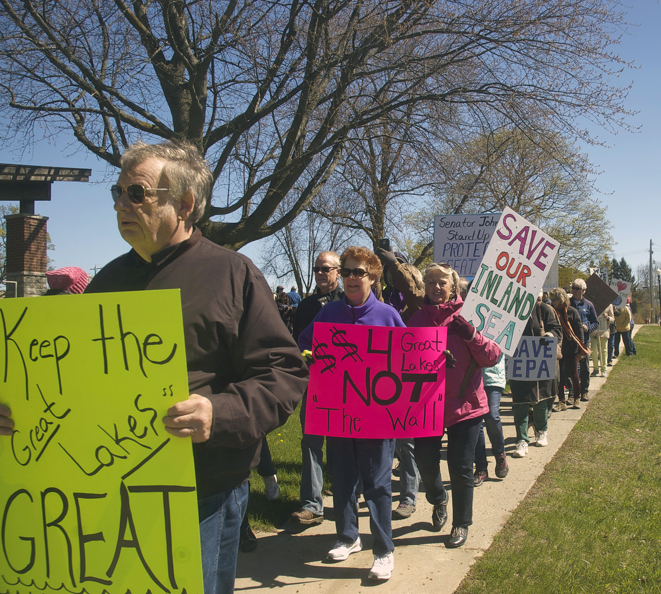 Great March for the Great Lakes. Jim Lundstrom.
