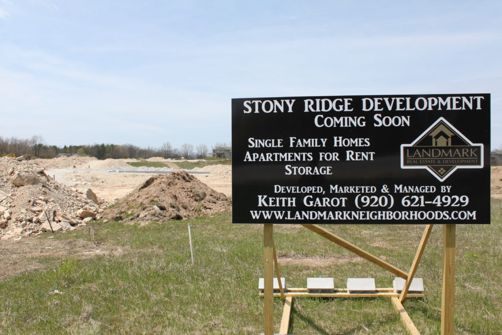 Stalled Development in Sister Bay