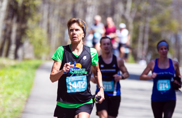 Rollins Breaks Half Marathon Age Group Record at Door County Race