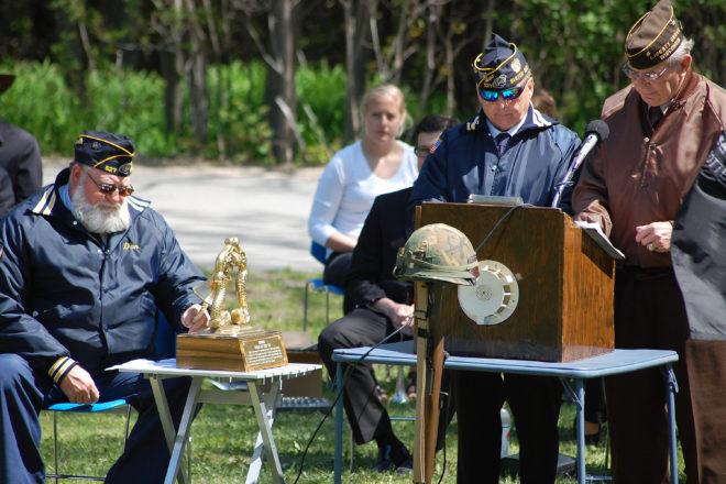 Billy Weiss American Legion Post 527 Memorial Day Ceremonies