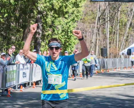 Sigl Sets Course Record in 10th Door County Half Marathon