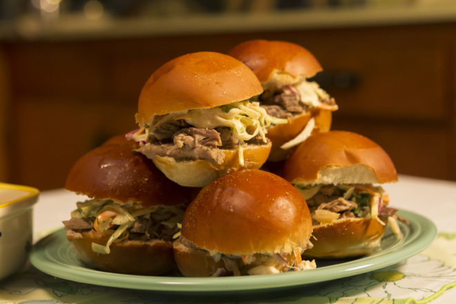 On Your Plate: Cooking For A Crowd? Pulled Pork Sammies