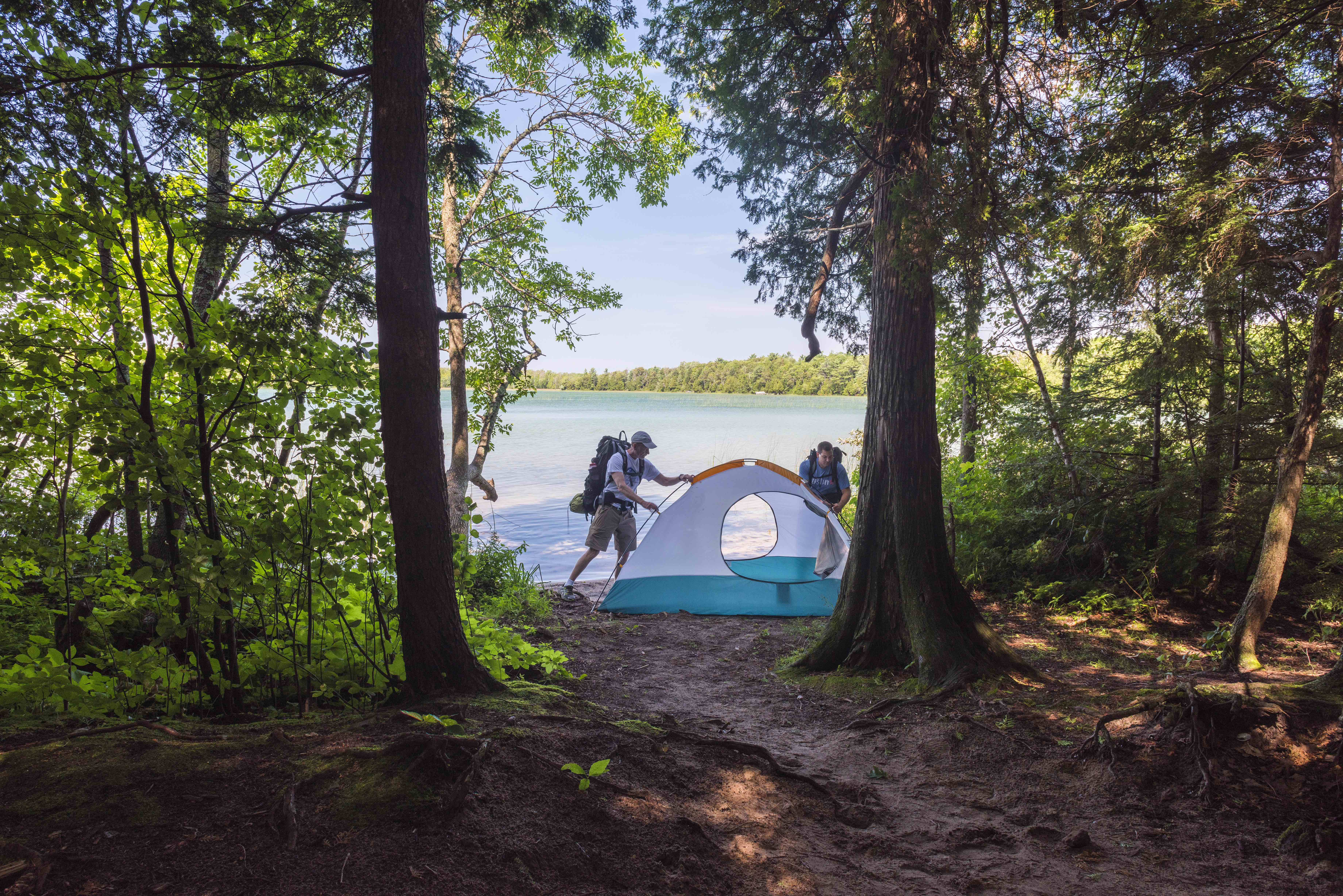 Newport State Park The Art Of Backpacking With Your