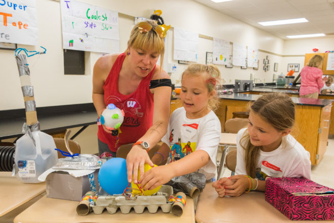 Young Inventors Show Their Work at Southern Door Camp Invention Showcase
