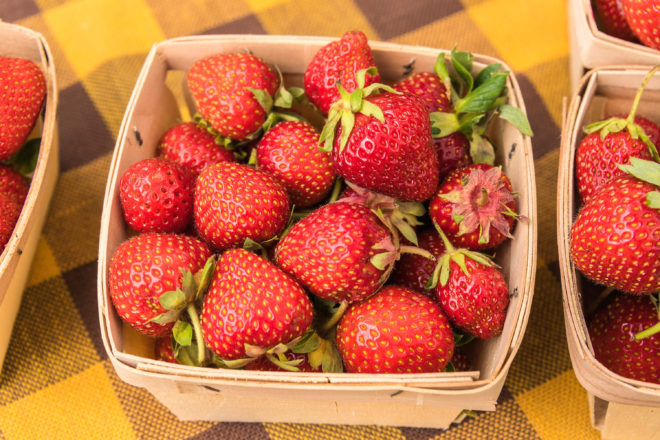 Strawberries: The Fresher, The Better